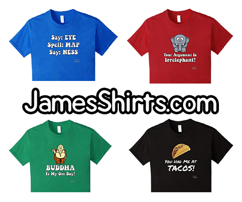 Jame's Designs T-Shirts - Custom t-shirt design online!